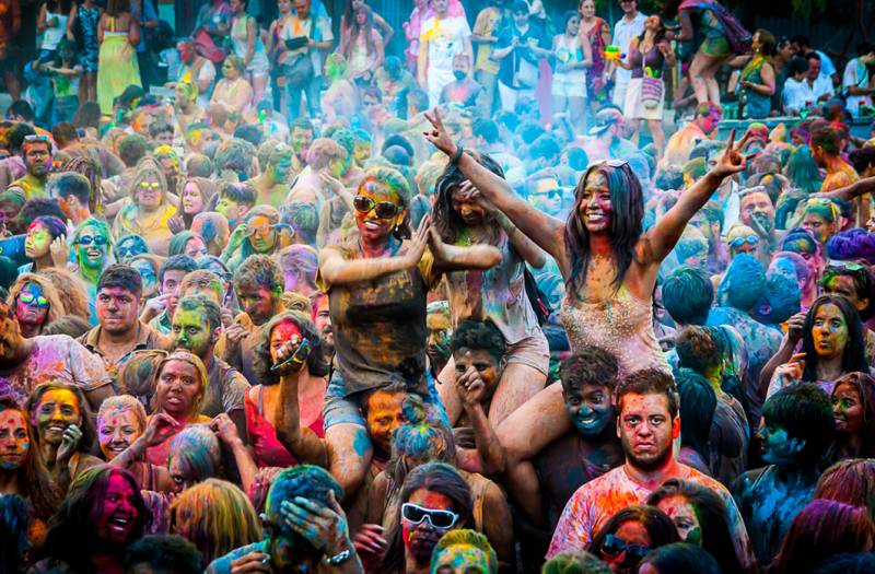 Monsoon Holi Madrid 2015