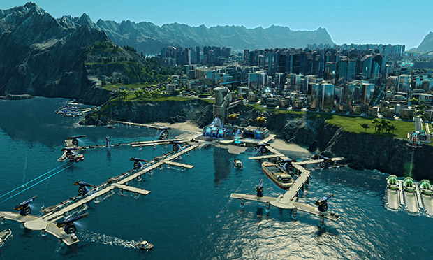 Anno2205 Port Area 205889