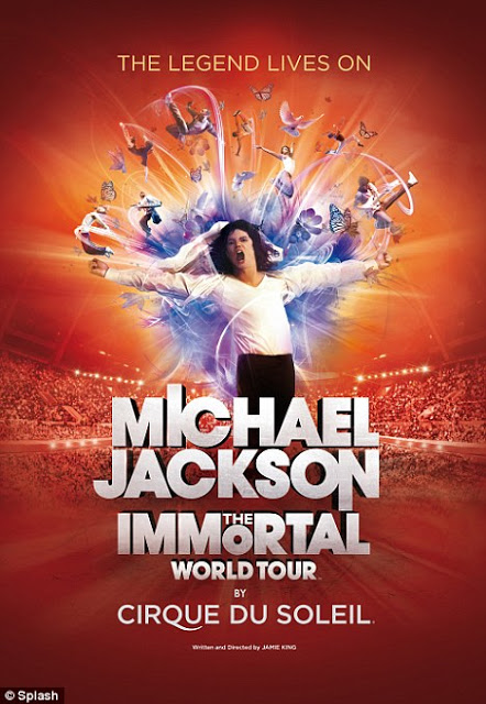 EN CATALUNYA: Michael Jackson, The Immortal World Tour