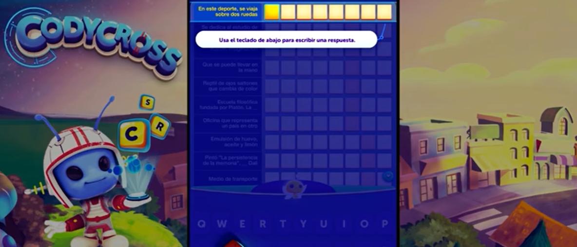 juego de palabras y letras: Codycross