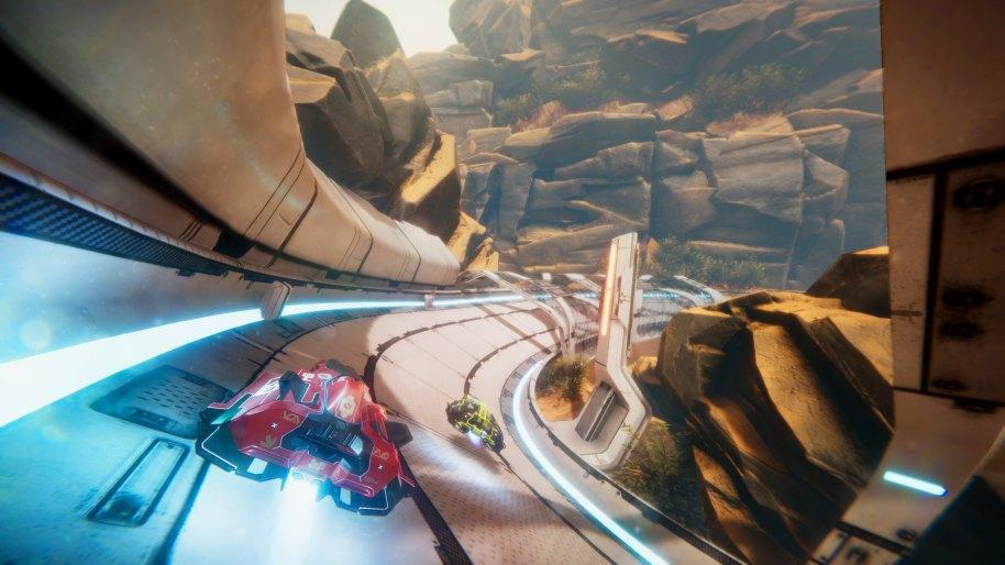 future racing: Antigraviator