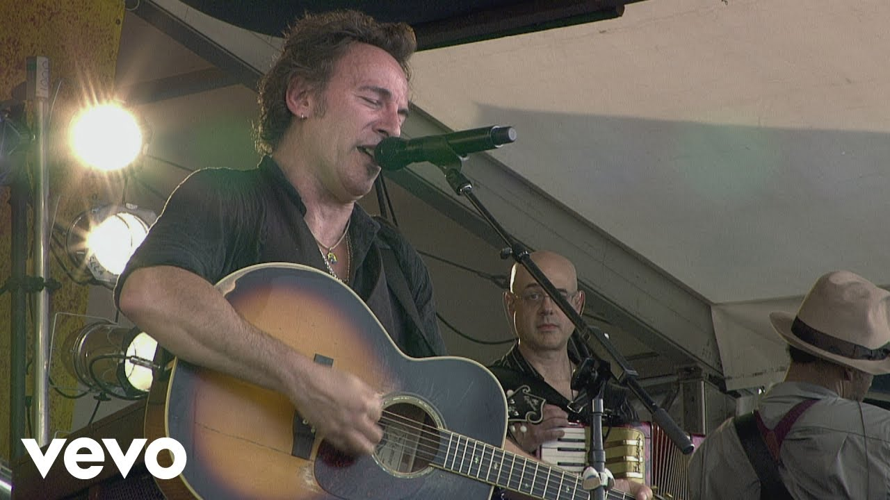 bruce sprinsteen live at the new