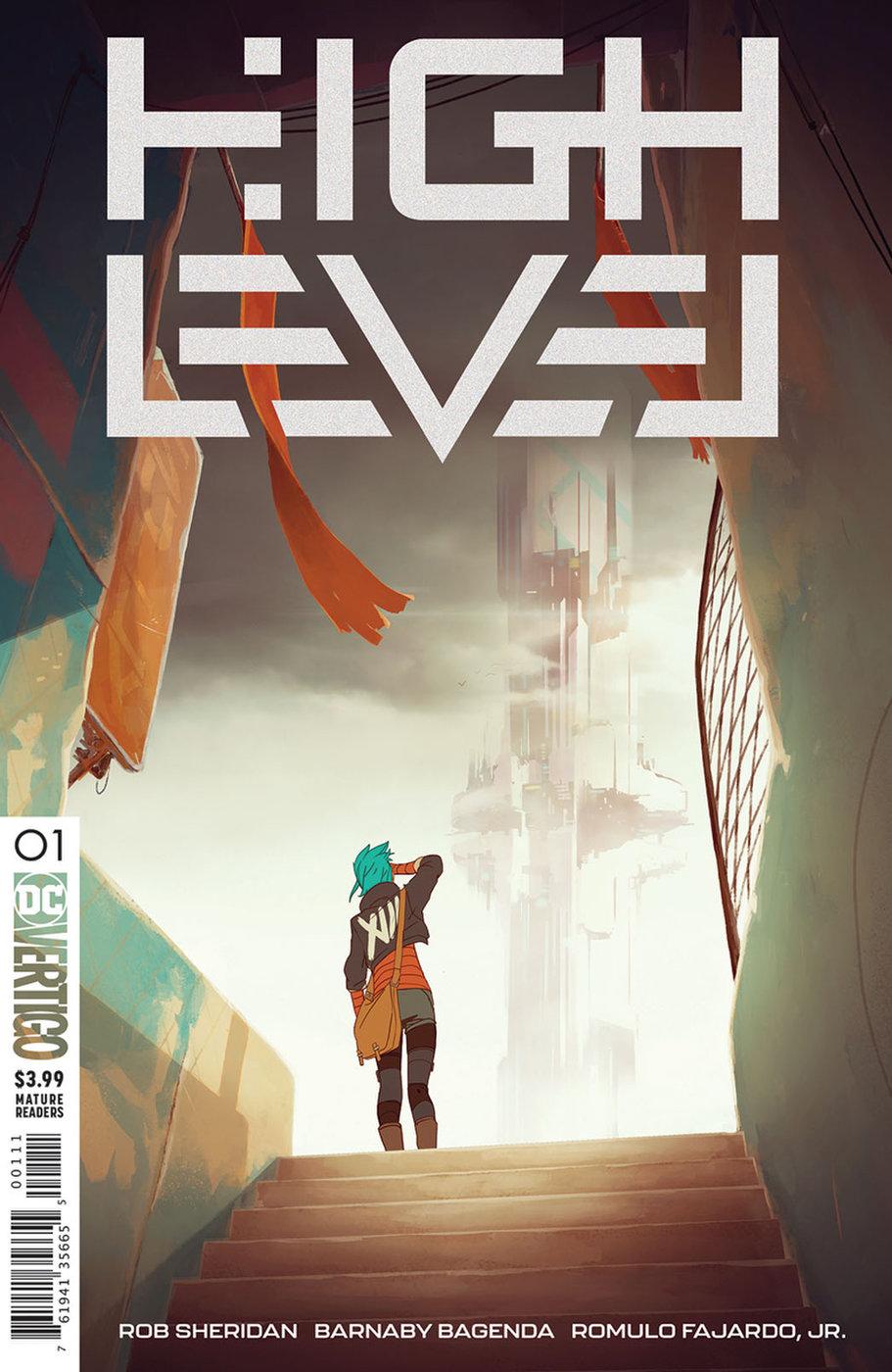 comics del espacio y del futuro: high level