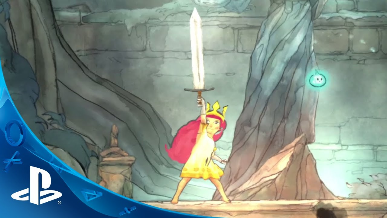 JUGAR A CHILD OF LIGHT EN PLAYSTATION VITA