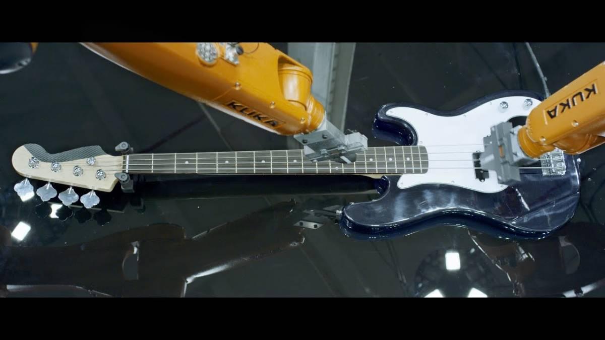 musica de robots automatica robo