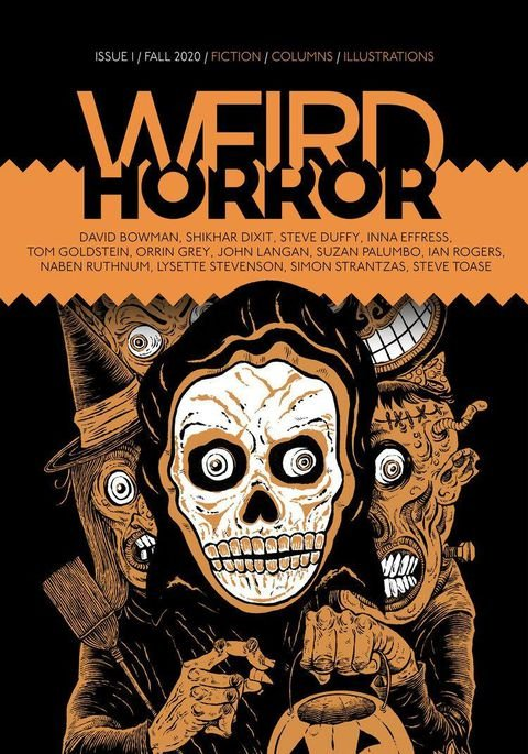 new horror magazine arrives with a retro p