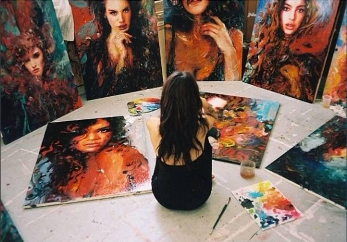 Ganar dinero con el arte y hacerlo rápido: el oro arte y cultura