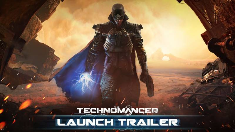 THE TECHNOMANCER GAMEPLAY