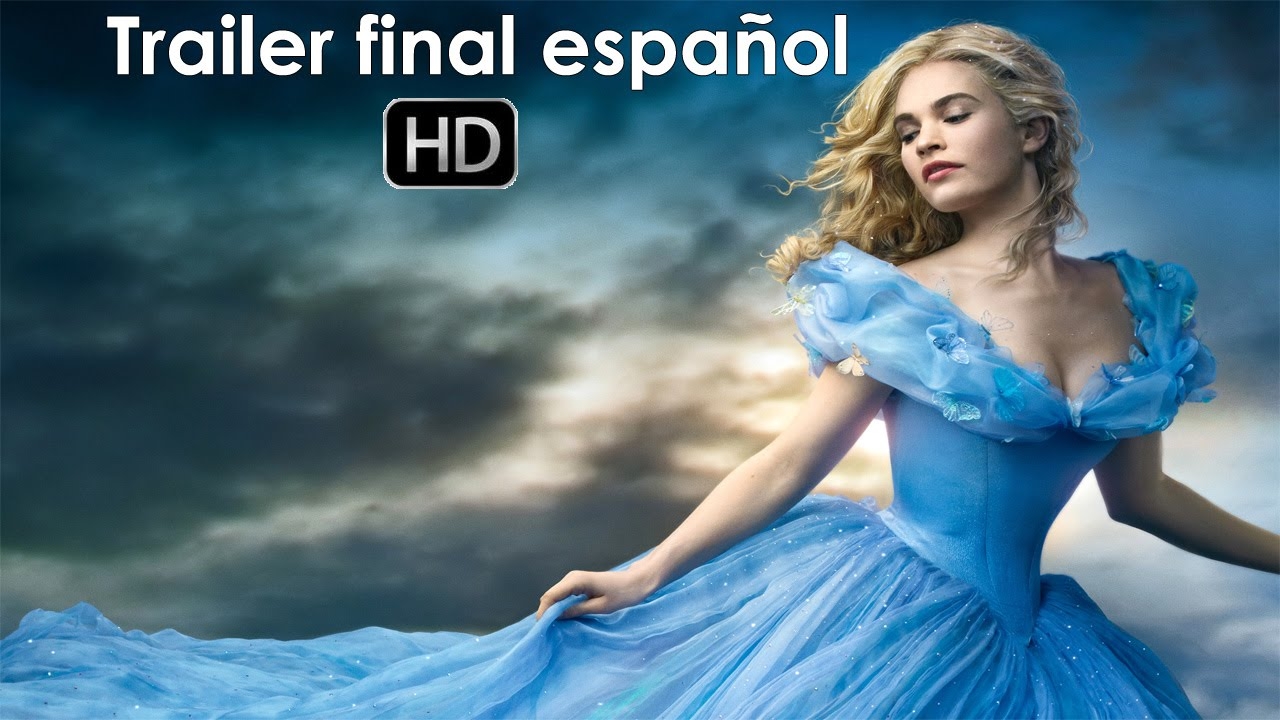 TRAILER DE CENICIENTA 2015